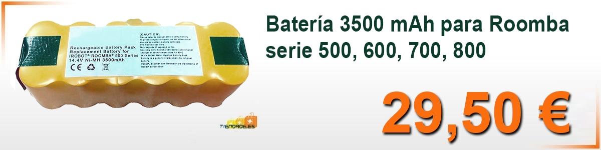 Bateria Roomba 500, Bateria Roomba 600, bateria roomba 700