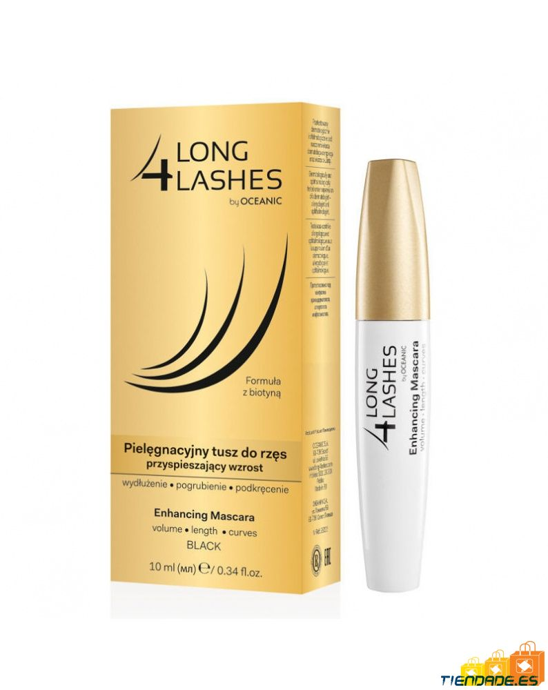 Long4lashes Eyelash Enhacing Mascara 10 ml. black