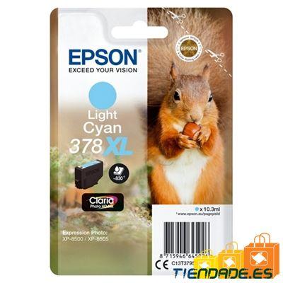 Epson Cartucho 378XL Cián Claro 10,3 ml