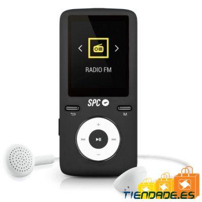 SPC Reproductor MP4+Radio 8488AD 8GB Negro/Gris