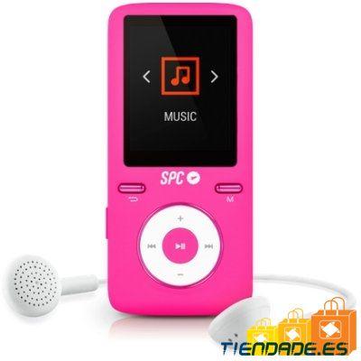 SPC Reproductor MP4+Radio 8488P 8GB Rosa