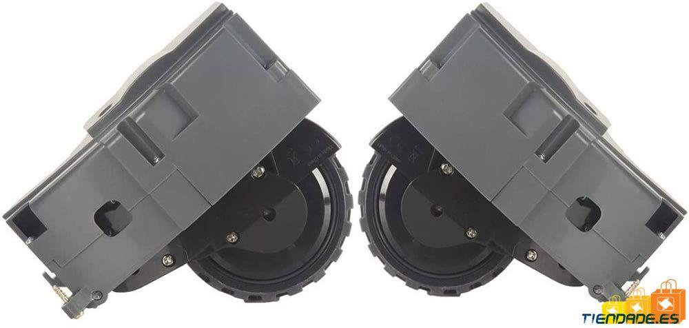 Pack de 2 ruedas, derecha e izquierda de Roomba series 800, 900