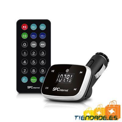 SPC Reproductor MP3 Car 8150N  SD USB Negro