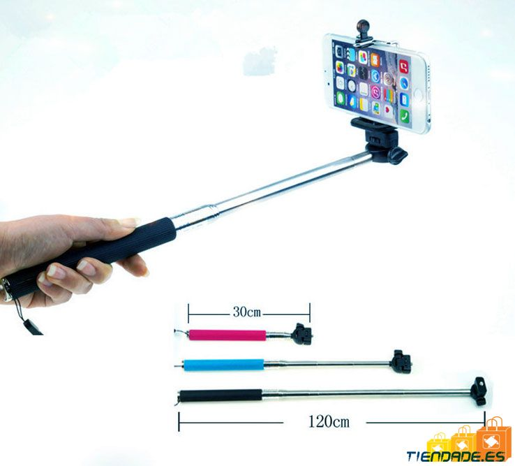 Palo extensible 120 cmts para Selfies