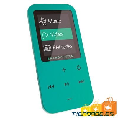 Energy Sistem Reproductor MP4 Touch 8GB Menta