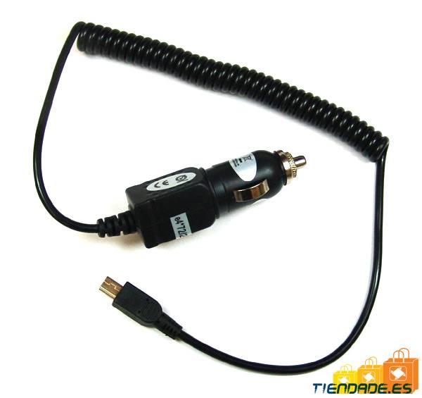 Cargador coche para Motorola V8, V9, Blackberry, Sony Ericsson, Samsung, micro usb, 1A